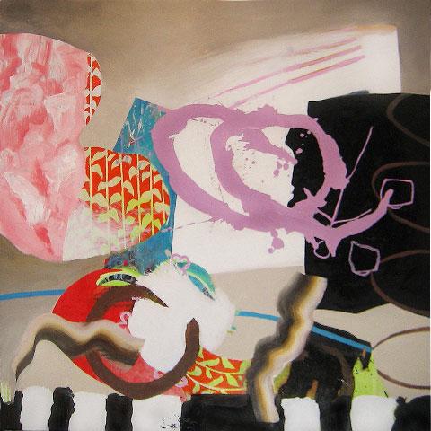 Fiona Ackerman - Circus  36x36